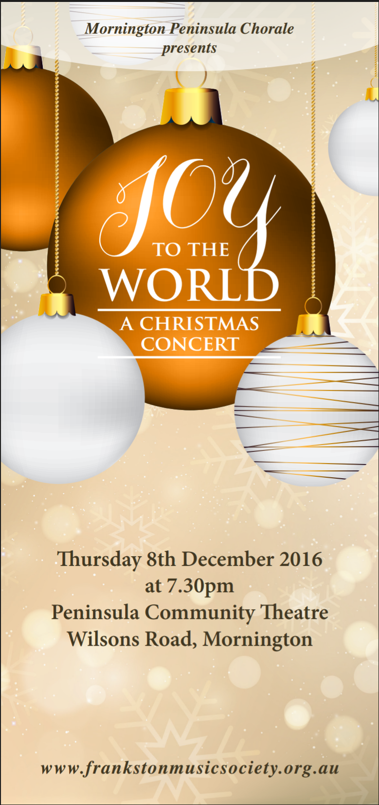 concert flyers frankston music society concerts in 2016